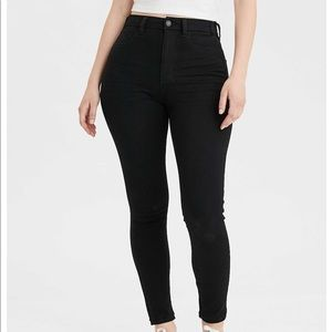 American eagle curvy high waisted jeggings
